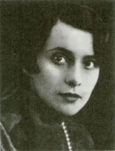 Russian writer Nina Berberova