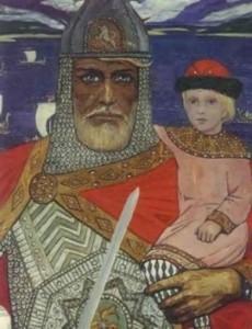 I. Glazunov. Prince Oleg and Igor