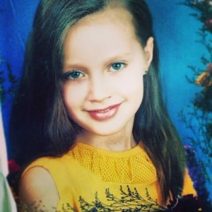 Kostenko Anastasia in her childhood