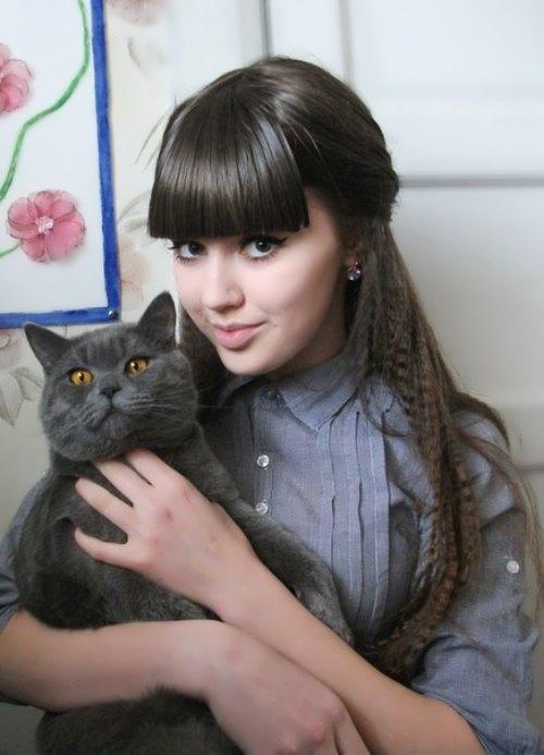 Beautiful girl Kostenko Anastasia