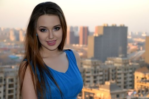 Anastasia will represent Russia in the Miss World 2014