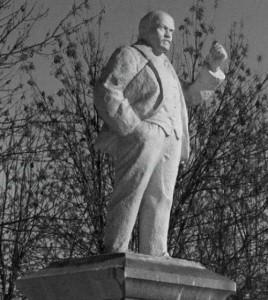 The oldest Lenin in Noginsk