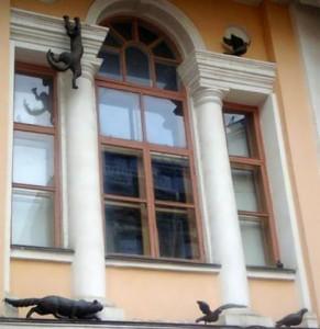 Monument to the cat, Nizhny Novgorod