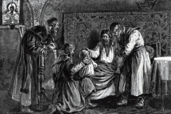 Ivan the Terrible and his wives