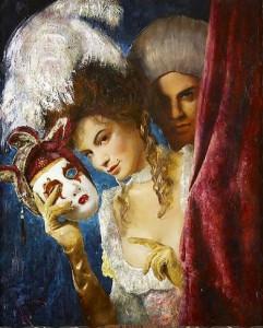 Russian Artist V. Mukhin