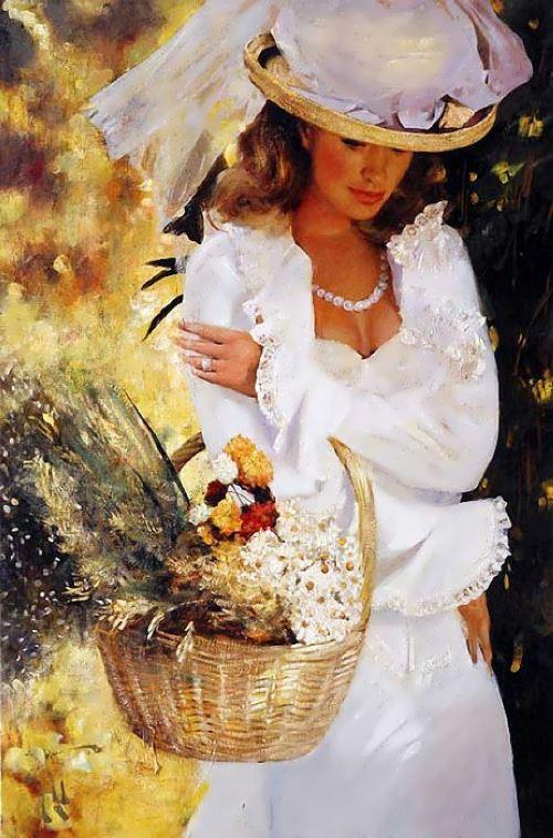 Charming Woman by Vladimir Mukhin
