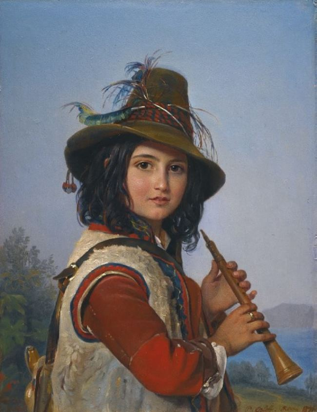 Russian painter Pimen Orlov