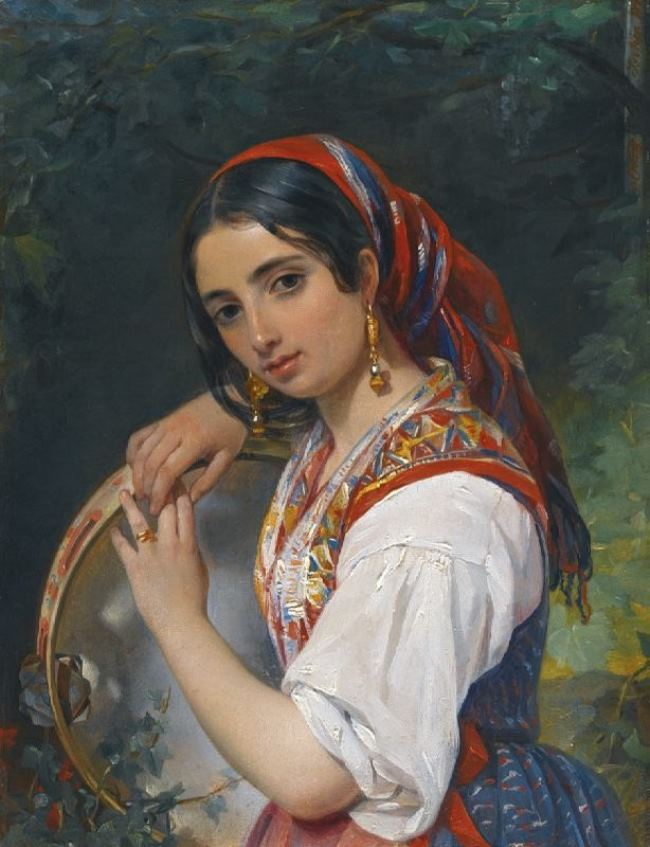 Russian painter Pimen Orlov
