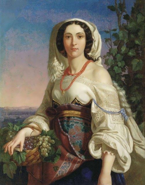 Neapolitan Girl Pimen Orlov