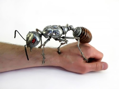 Steampunk Ant by Russian artist