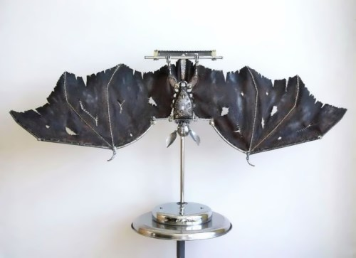 Steampunk Bat by Russian artist