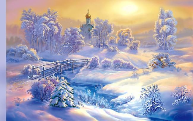 Winter Tale by Victor Tsyganov