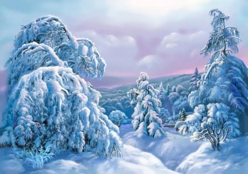 Winter magic by V. Tsyganov