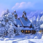 Fabulous winter scenery by Victor Tsyganov