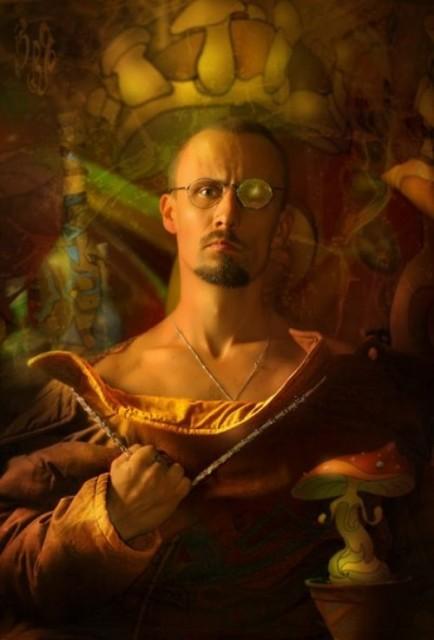Vladimir Fedotko. Self-portrait