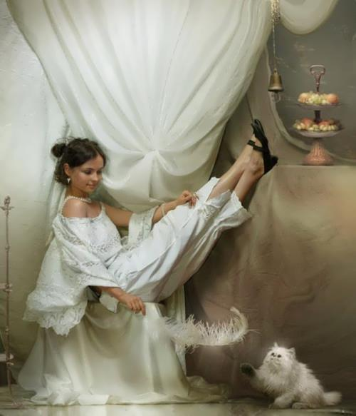 Cute pictures by Russian digital artist Vladimir Fedotko