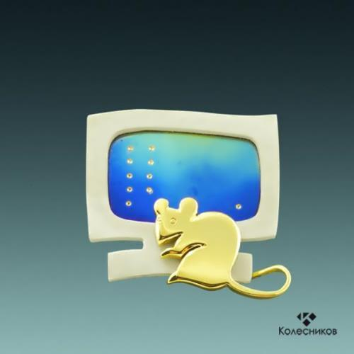 Brooch – Mouse
