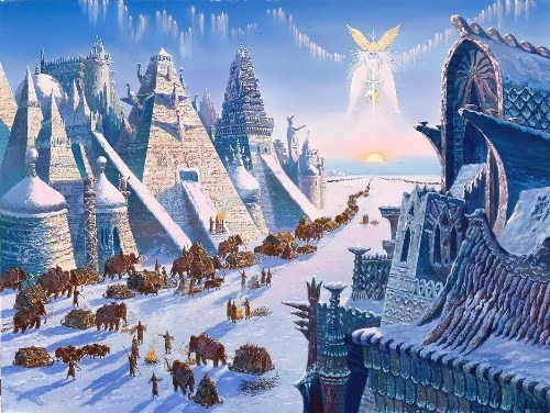 The Exodus of the Hyperborean. V. Ivanov