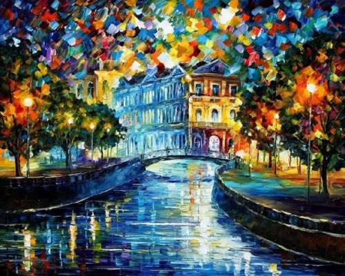 Wonderful bright pictures by Afremov