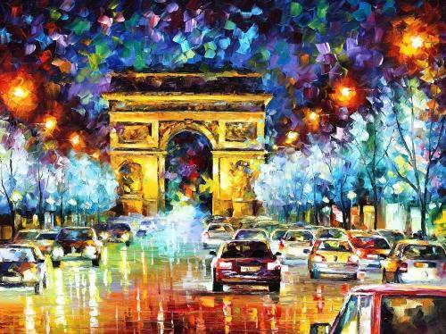 Wonderful bright pictures by L. Afremov