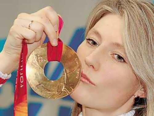 Svetlana Zhurova - Russian skater