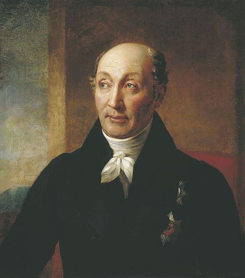 Alexander Varnek. Portrait of Mikhail Speransky