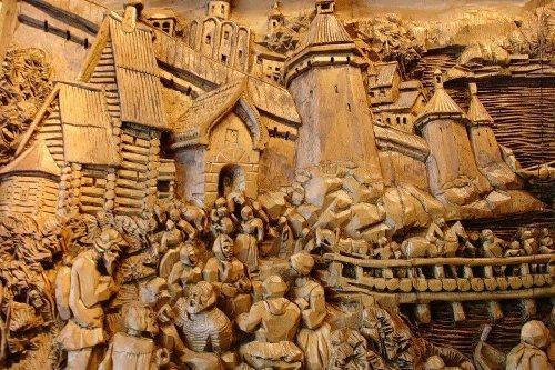 gogolev kronid woodcarving