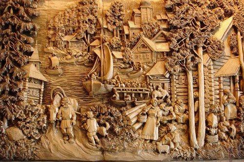 gogolev kronid wood carver