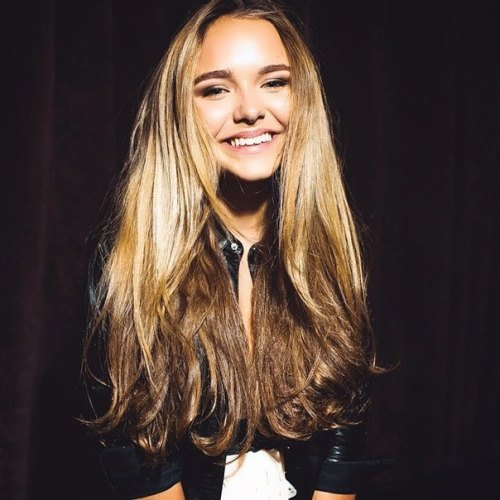 Stefaniya Malikova fashionable girl