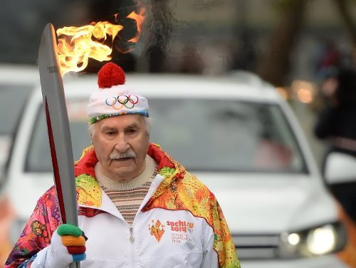 zeldin Olympic torch relay
