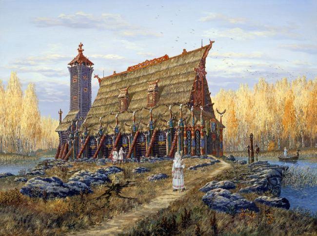 Mysterious Hyperborea by Vsevolod Ivanov