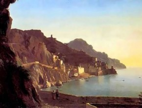 Italian landscape. Capri Silvestr Shchedrin