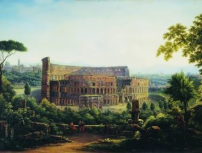 View of Rome. Colosseum Silvestr Shchedrin