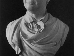 Bust of M. V. Lomonosov Fedot Shubin