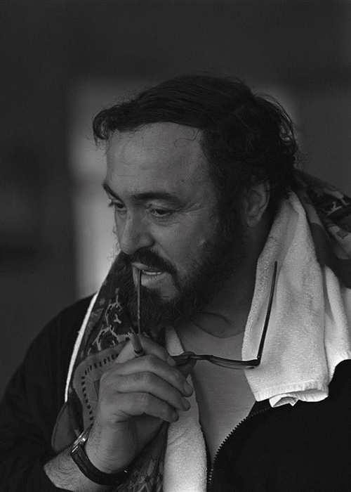 Luciano Pavarotti Sergei Bermeniev