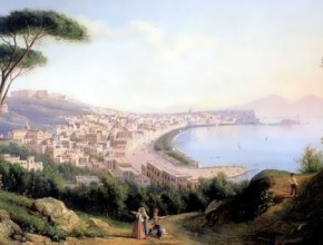 View of Naples from the road in Pozilippo Silvestr Shchedrin