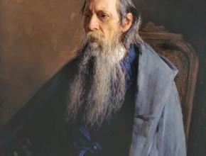 Portrait of Mikhail Saltykov-Shchedrin