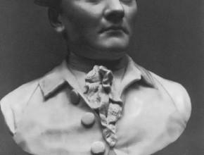 Bust of an unknown man Fedot Shubin