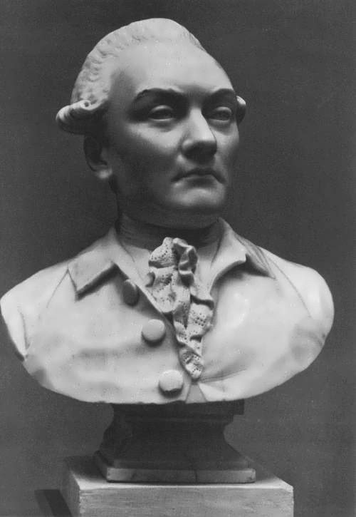 Bust of an unknown man Fedot Shubin