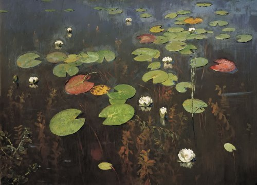 swamp Isaac Levitan