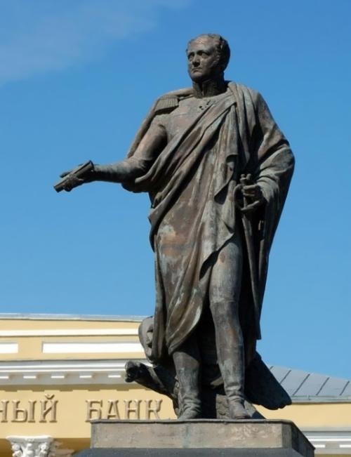 Monument to Emperor Alexander I Ivan Martos