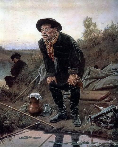 The Angler Vasily Perov