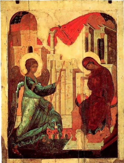 The Annunciation Andrei Rublev
