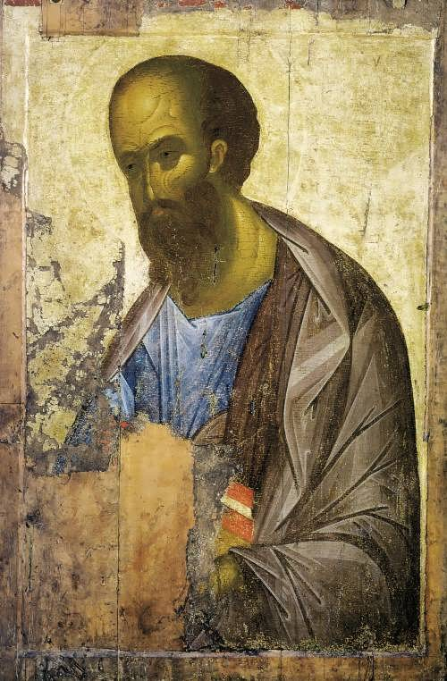 Apostle Paul Andrei Rublev