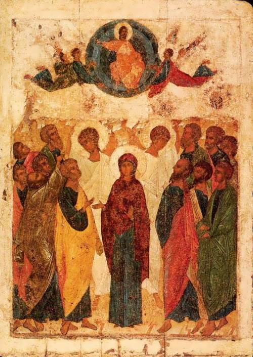Ascension of Our Lord Andrei Rublev