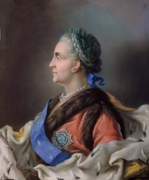 Portrait of Catherine II Vladimir Borovikovsky