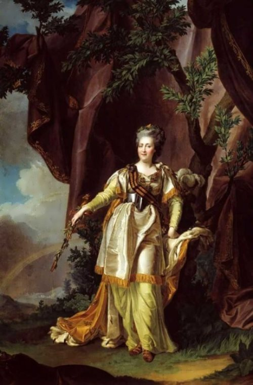 Portrait of Empress Catherine II Dmitry Levitsky