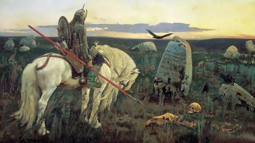 Knight at the Crossroads Viktor Vasnetsov