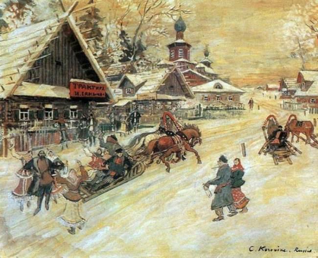 Konstantin Korovin – Mozart of painting