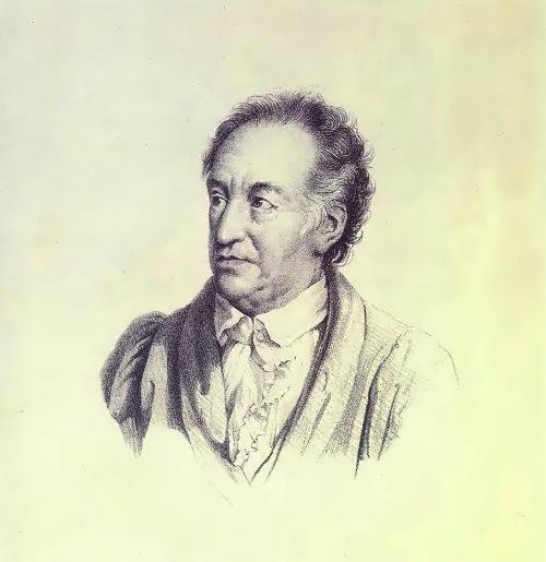 Portrait of Johann Wolfgang von Goethe, 1823